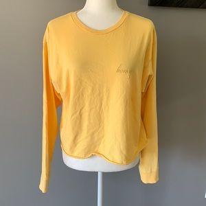 PacSun J. Galt Embroidered Honey Crop Top
